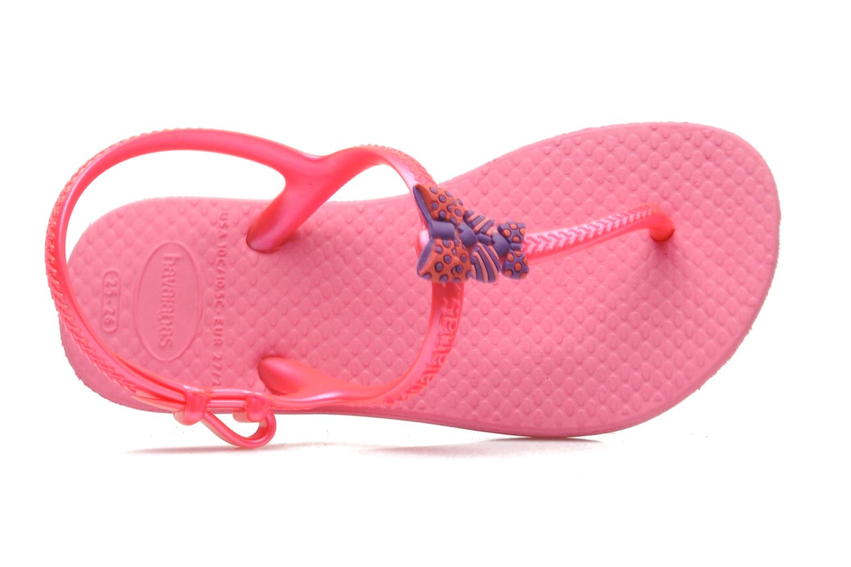Sandales et nu-pieds Havaianas Kids Freedom Rose vue gauche