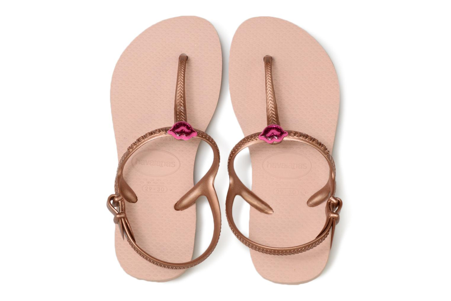 Sandalen Havaianas Kids Freedom Roze model