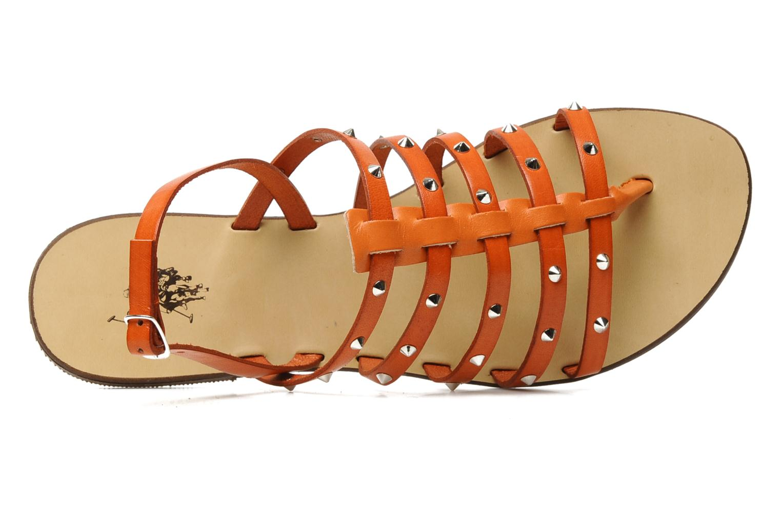 Sandalen U.S Polo Assn. Evita Oranje links