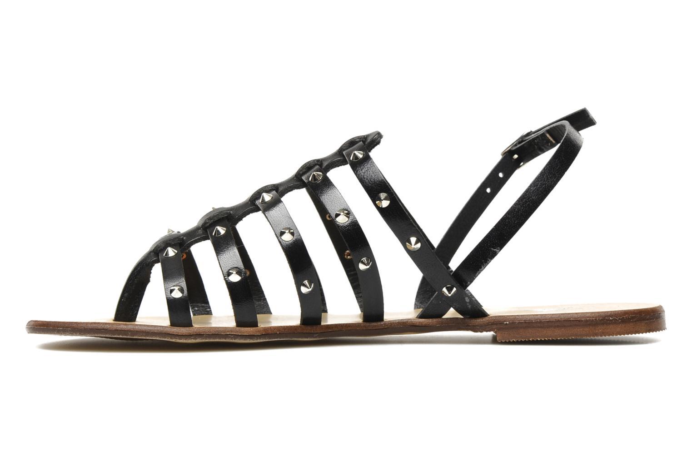 Sandales et nu-pieds U.S Polo Assn. Evita Noir vue face