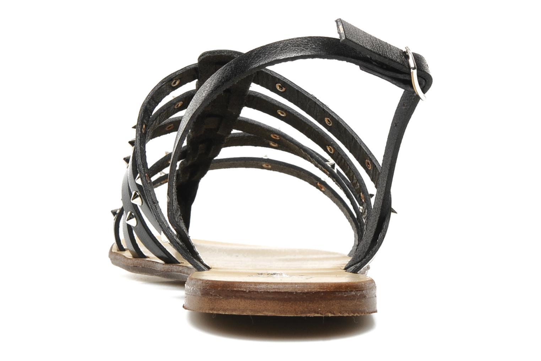 Sandales et nu-pieds U.S Polo Assn. Evita Noir vue droite