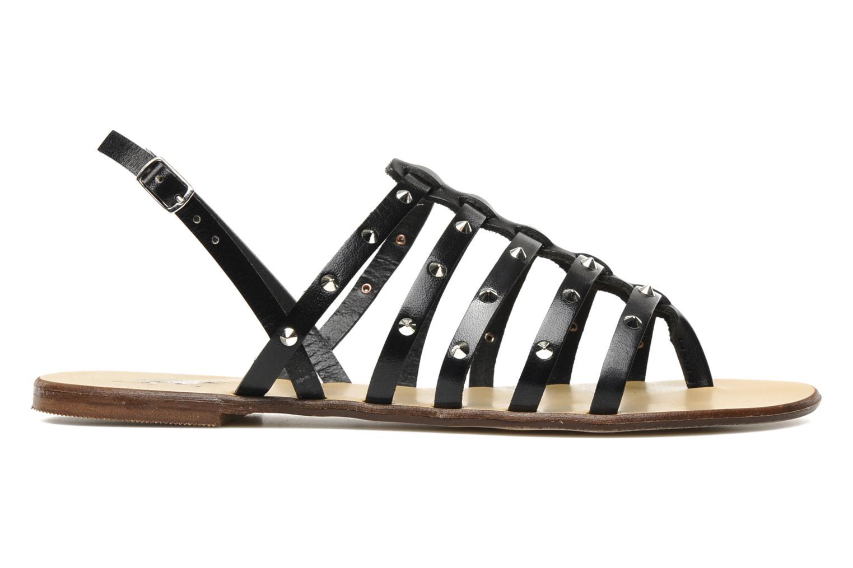 Sandales et nu-pieds U.S Polo Assn. Evita Noir vue derrière