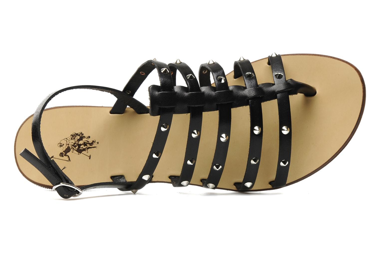 Sandales et nu-pieds U.S Polo Assn. Evita Noir vue gauche