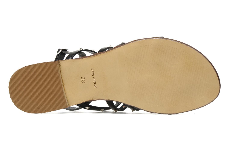 Sandales et nu-pieds U.S Polo Assn. Evita Noir vue haut