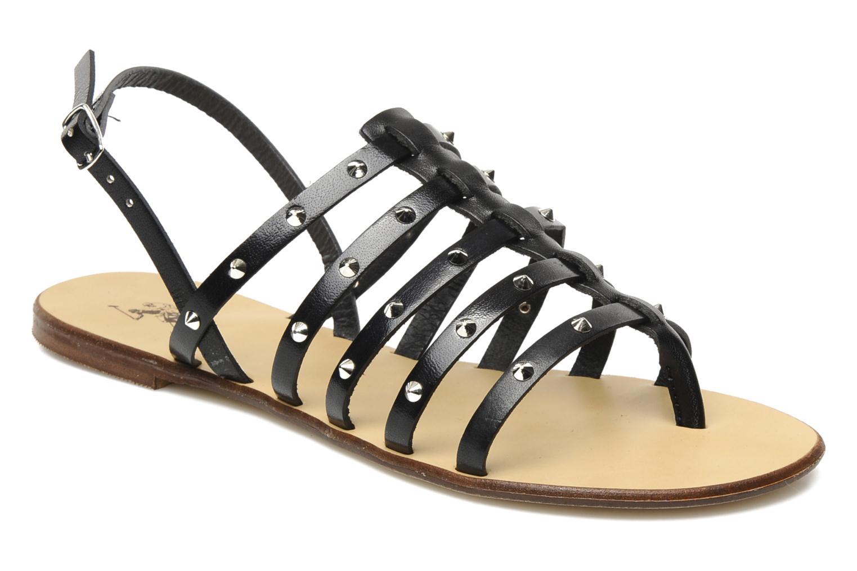 Sandales et nu-pieds U.S Polo Assn. Evita Noir vue détail/paire