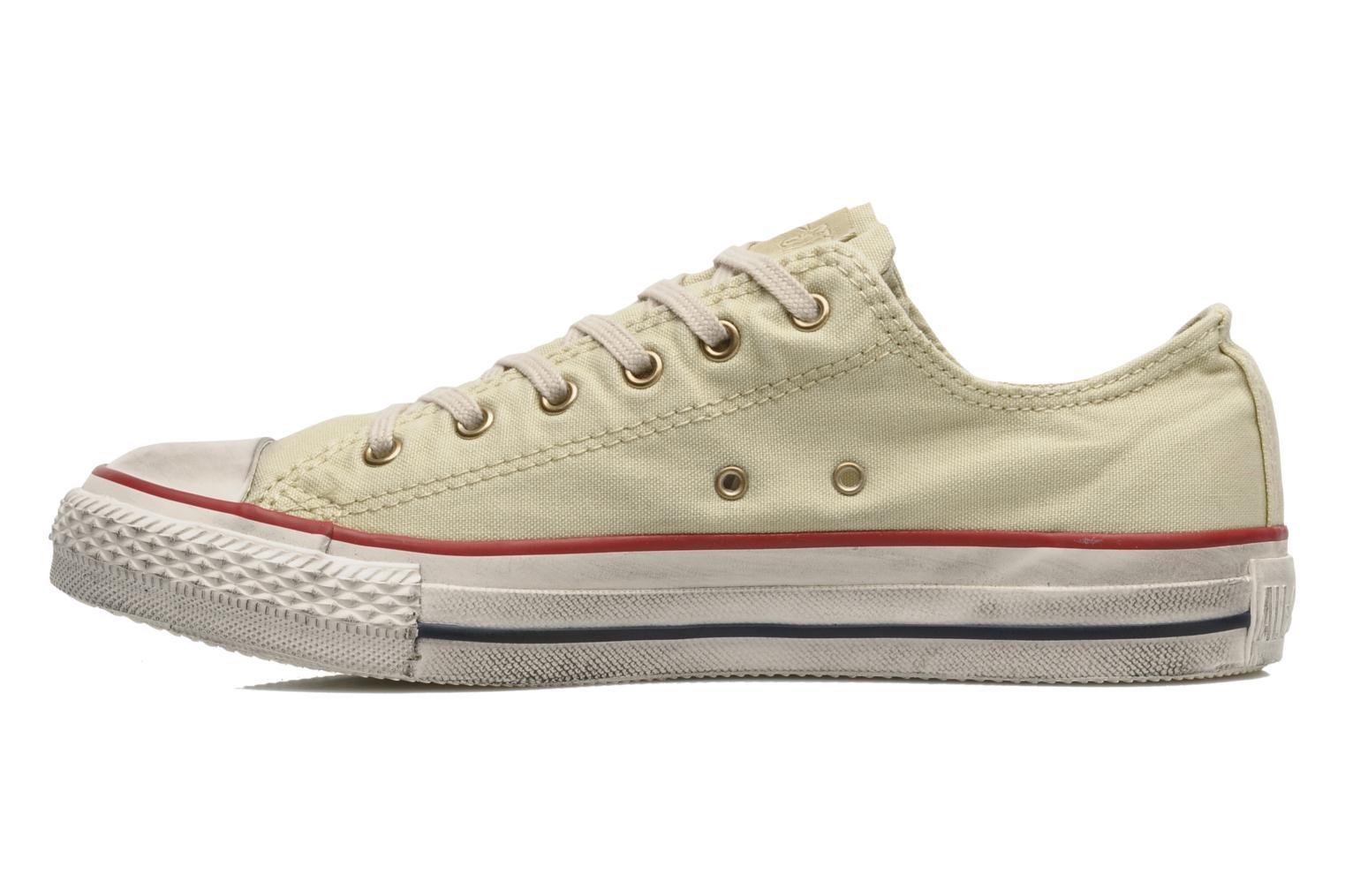 Sneakers Converse Chuck Taylor All Star Fashion Washed Ox W Beige voorkant
