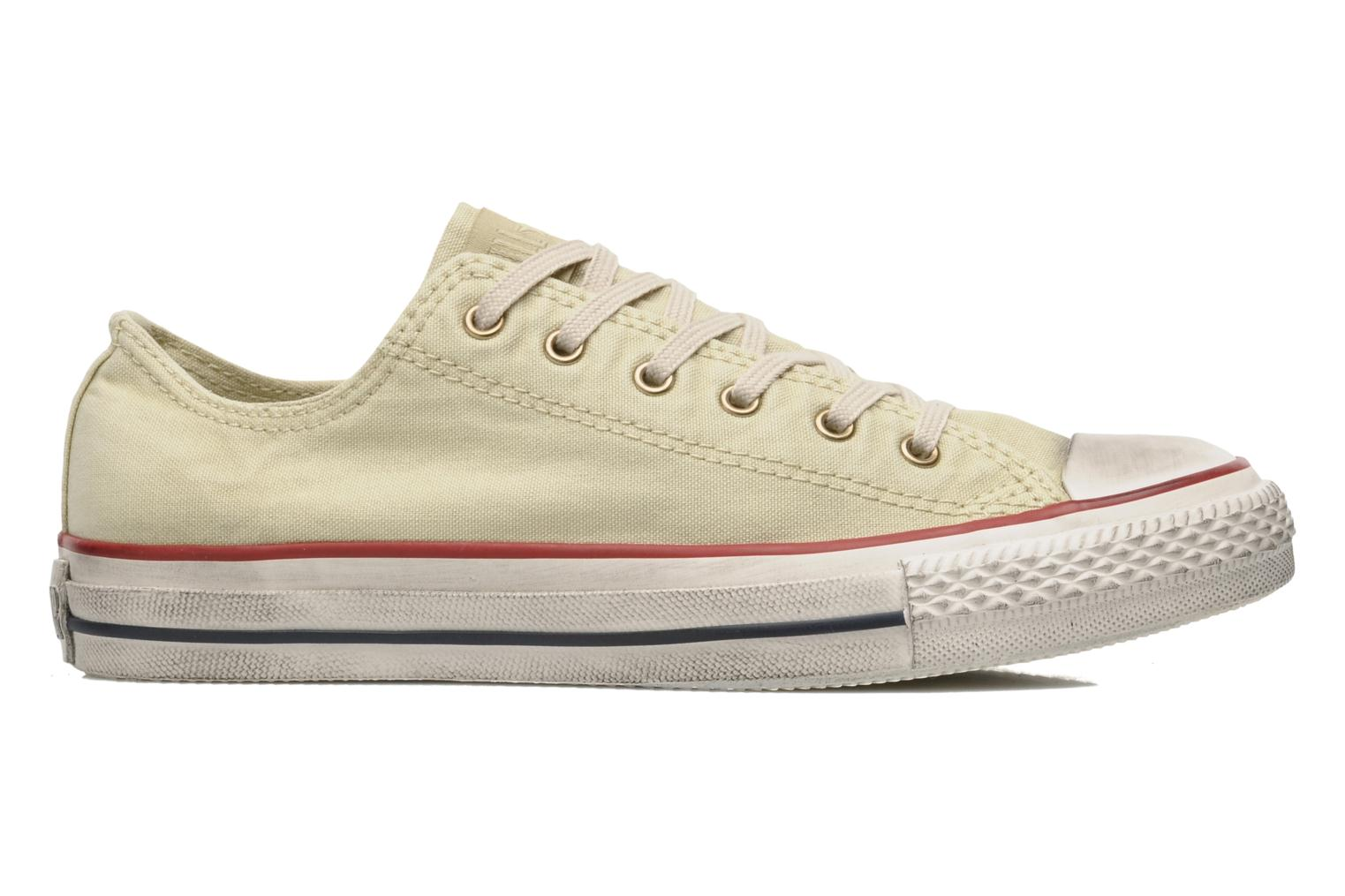 Sneakers Converse Chuck Taylor All Star Fashion Washed Ox W Beige achterkant