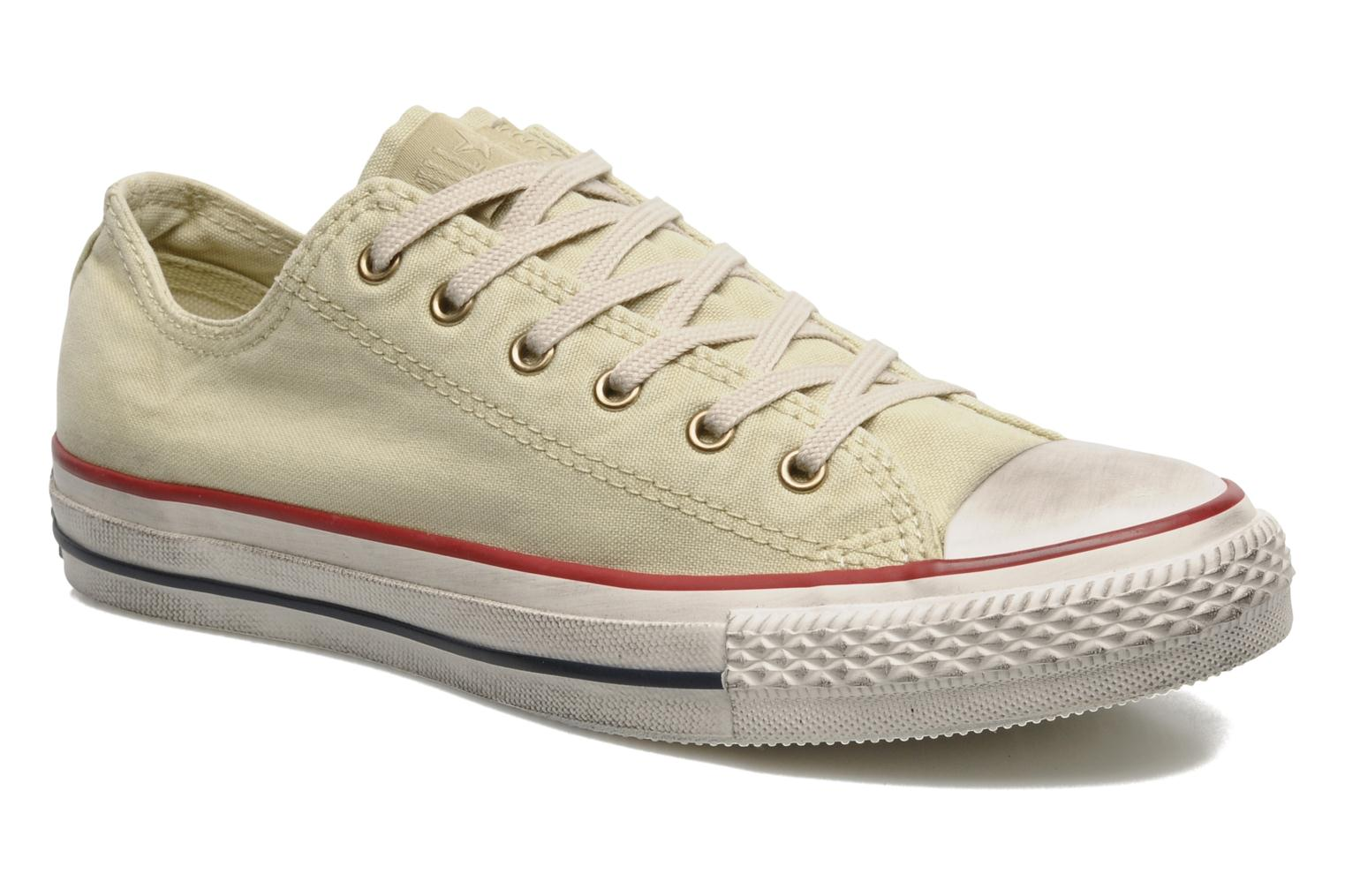 Sneakers Converse Chuck Taylor All Star Fashion Washed Ox W Beige detail