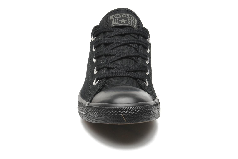 Sneaker Converse All Star Dainty Canvas Ox W schwarz schuhe getragen