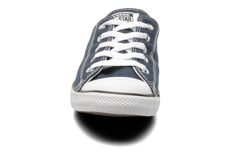 Sneakers Converse All Star Dainty Canvas Ox W Blå bild av skorna på