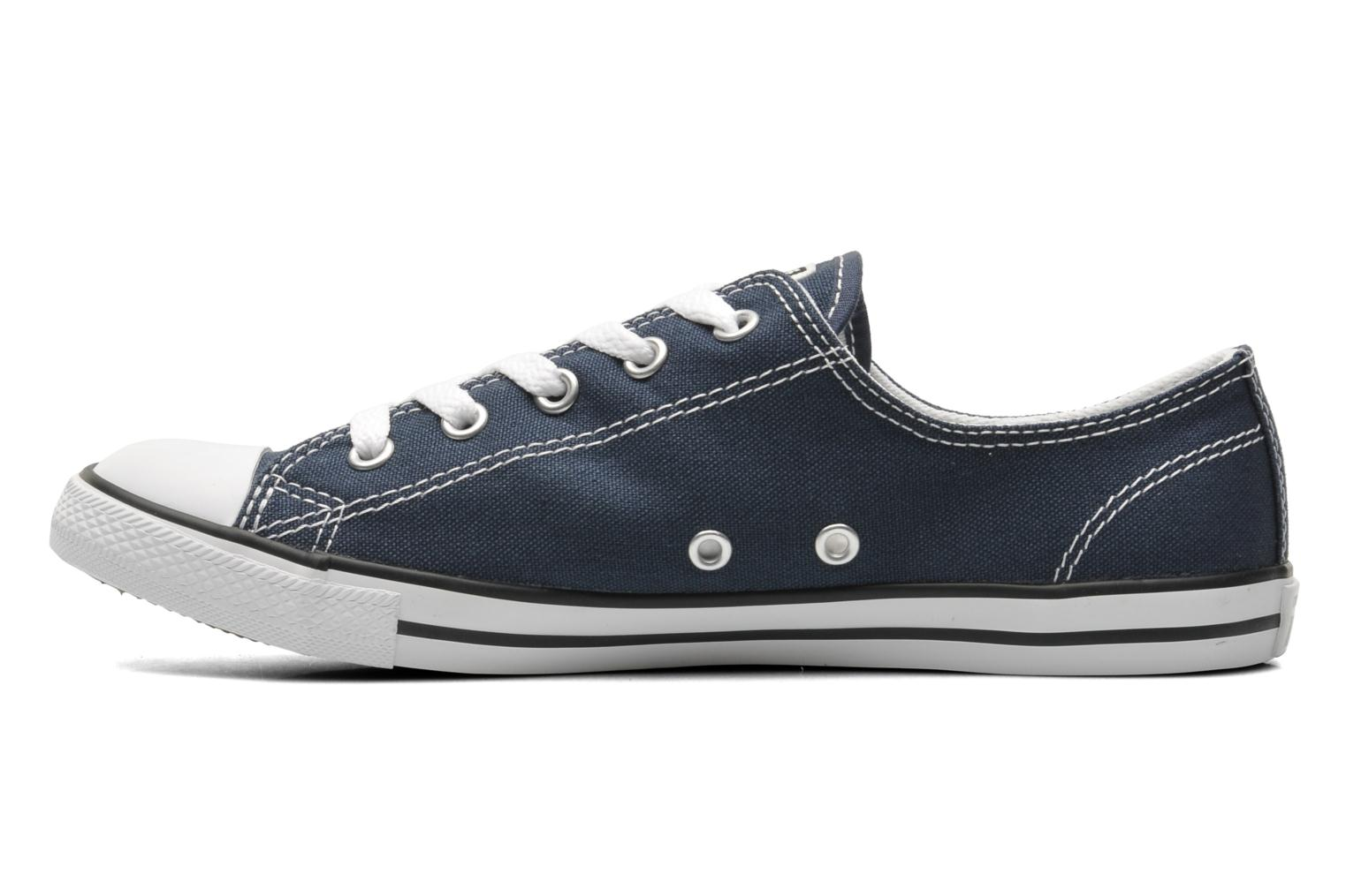 Baskets Converse All Star Dainty Canvas Ox W Bleu vue face