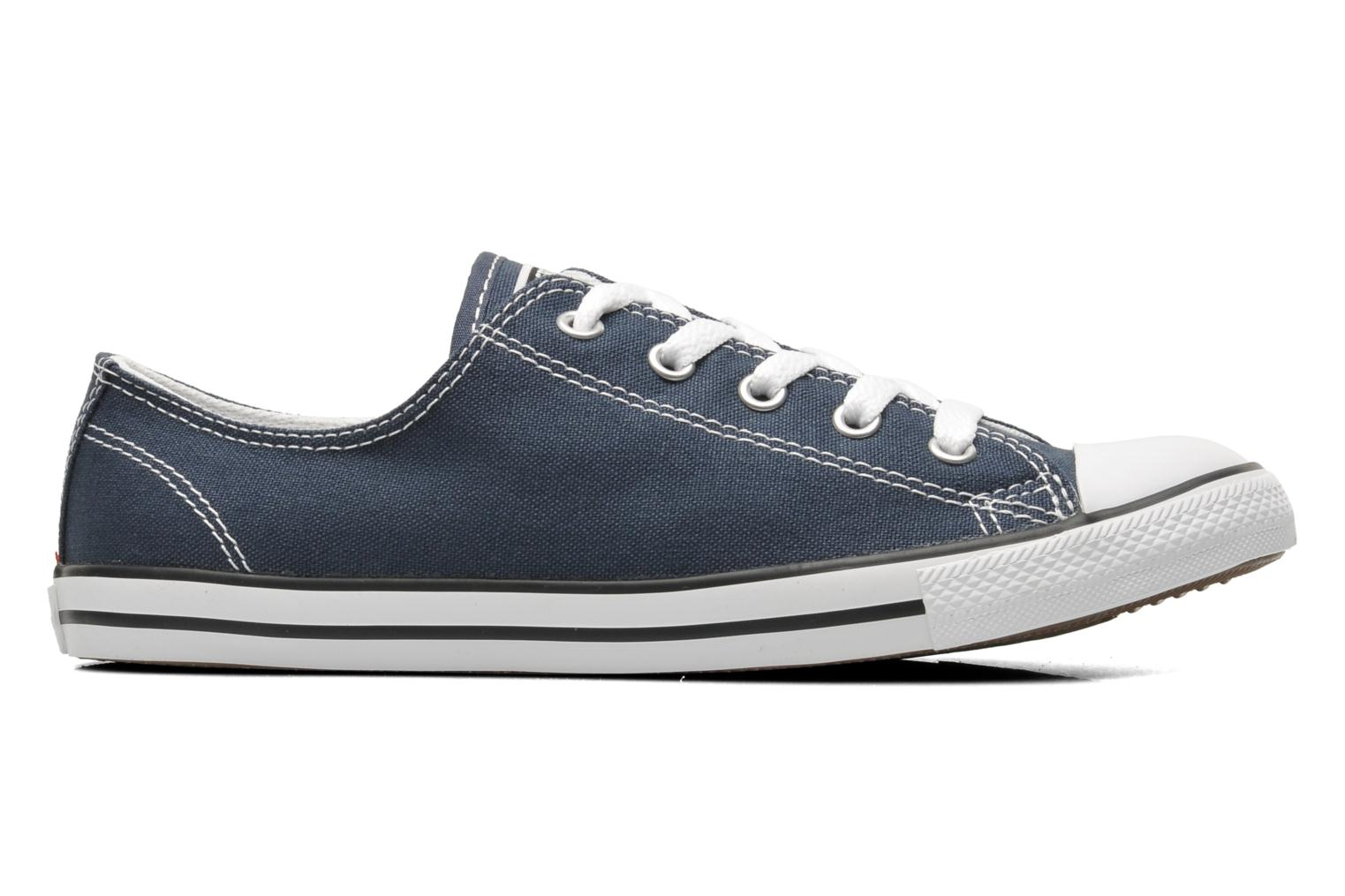 Baskets Converse All Star Dainty Canvas Ox W Bleu vue derrière