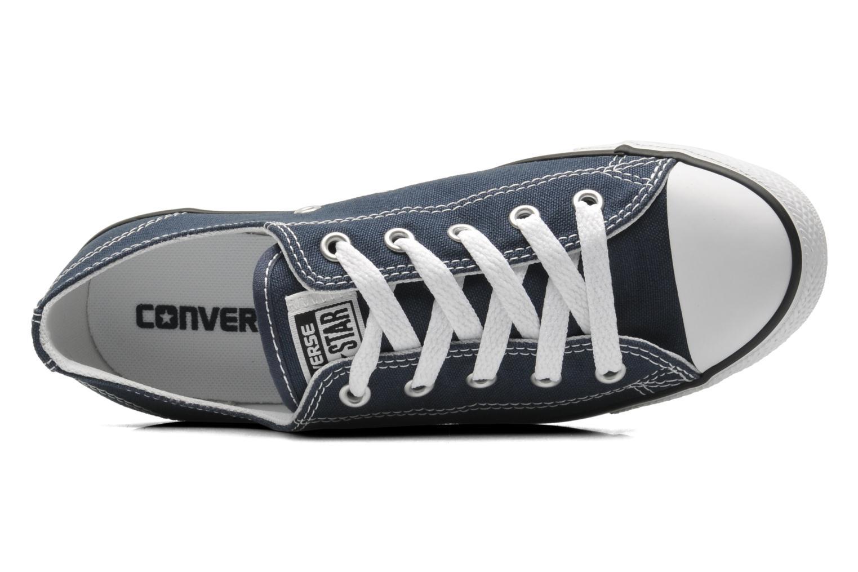 Sneakers Converse All Star Dainty Canvas Ox W Blå bild från vänster sidan
