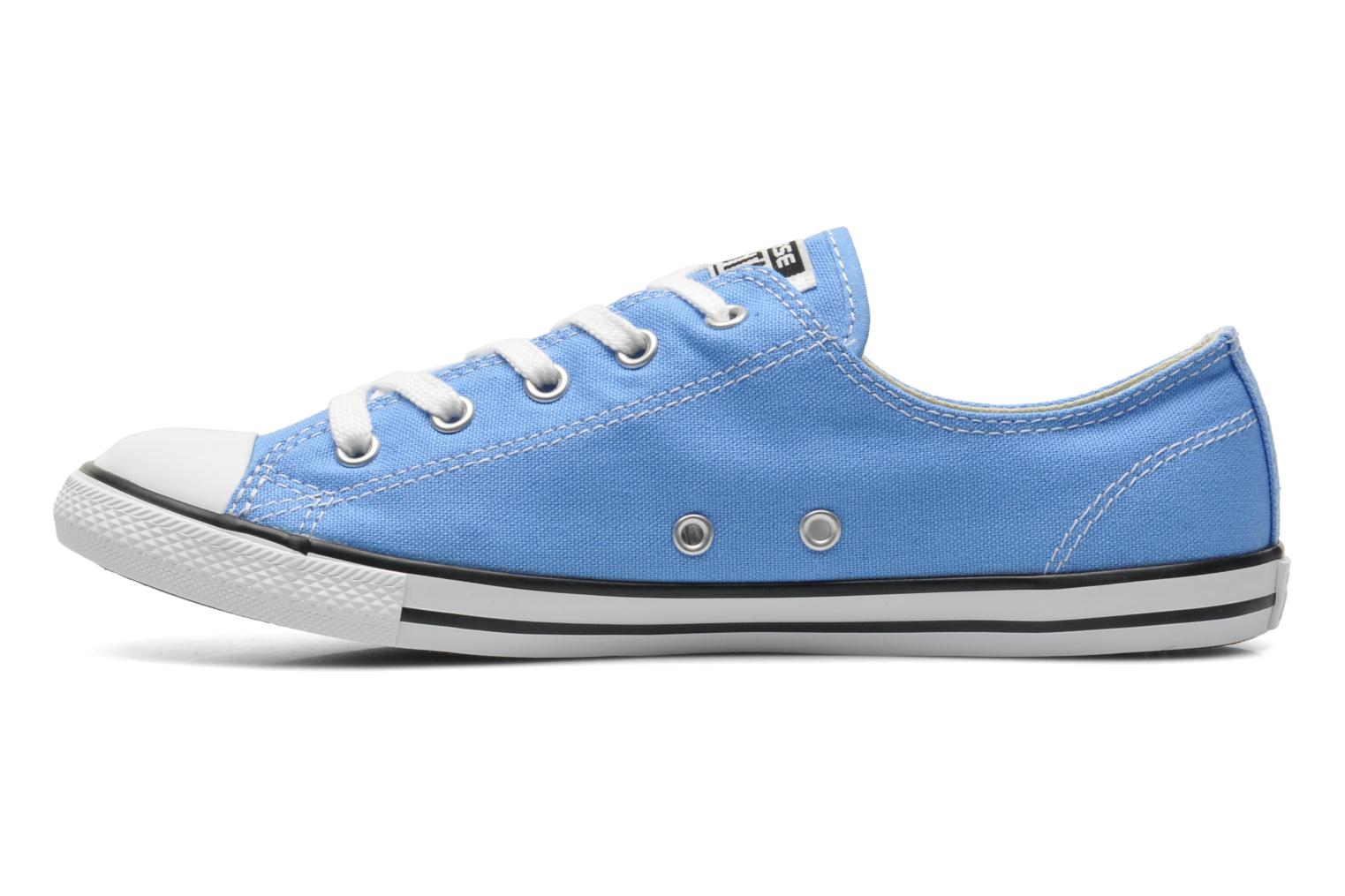 Sneakers Converse All Star Dainty Canvas Ox W Blauw voorkant