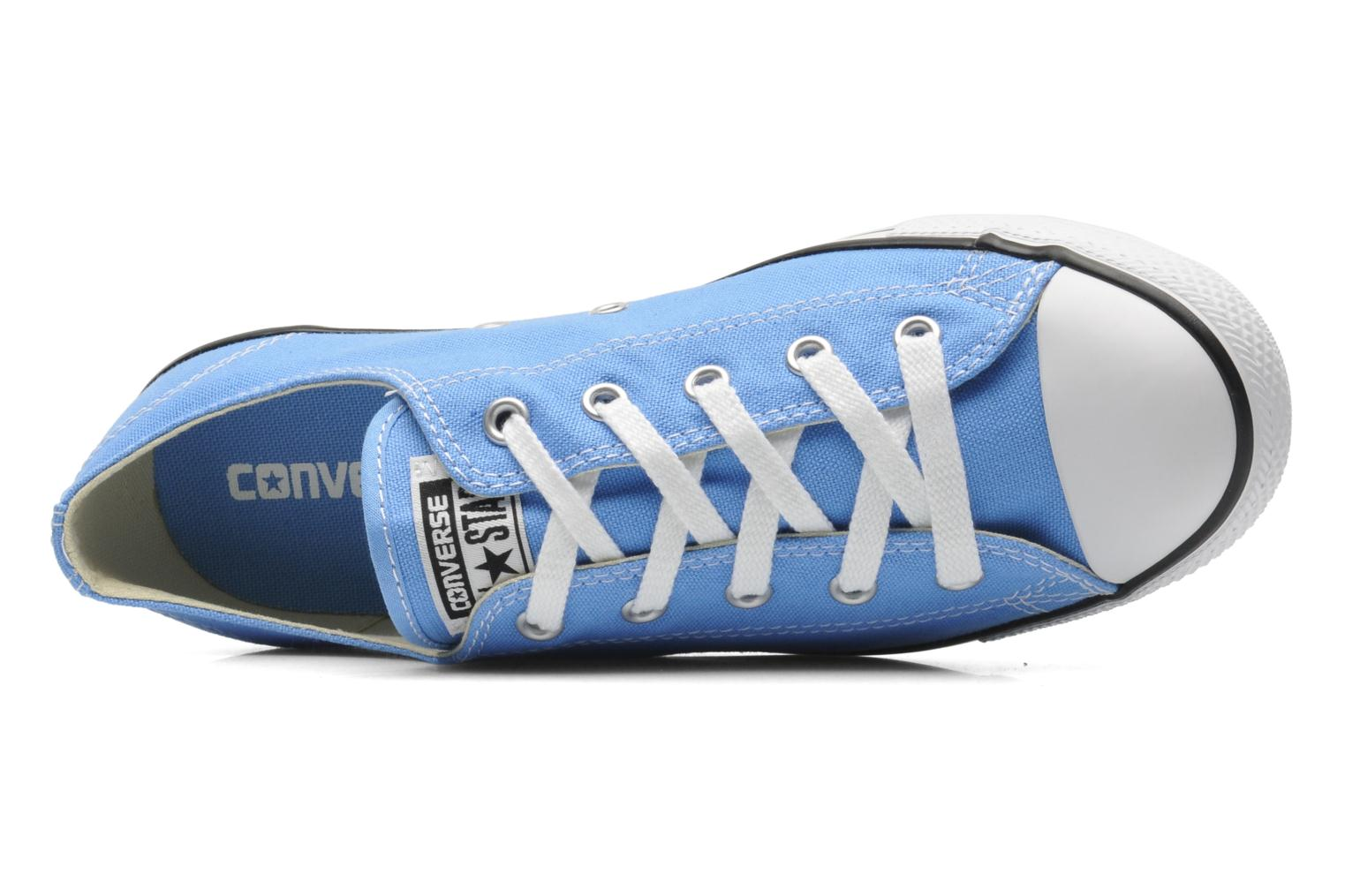 Baskets Converse All Star Dainty Canvas Ox W Bleu vue gauche
