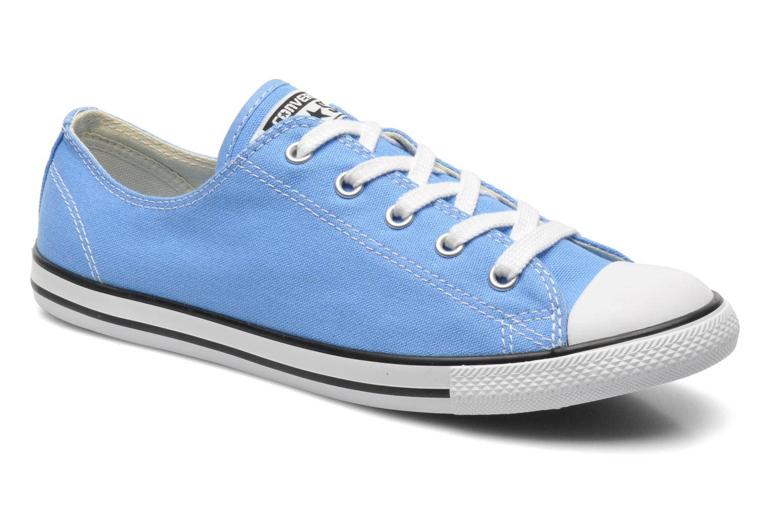 Baskets Converse All Star Dainty Canvas Ox W Bleu vue détail/paire