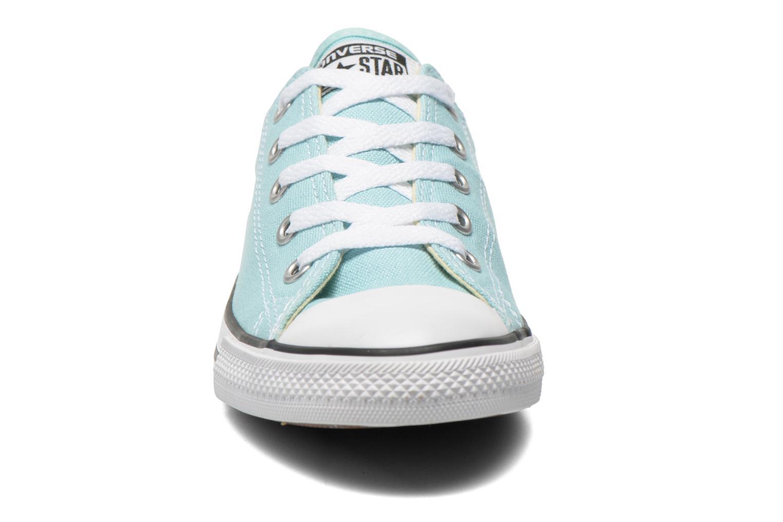Sneaker Converse All Star Dainty Canvas Ox W grün schuhe getragen