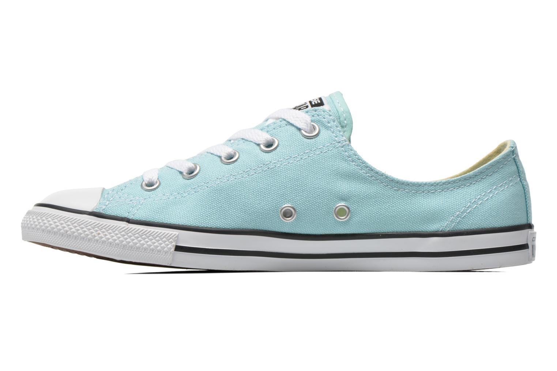Sneaker Converse All Star Dainty Canvas Ox W grün ansicht von vorne