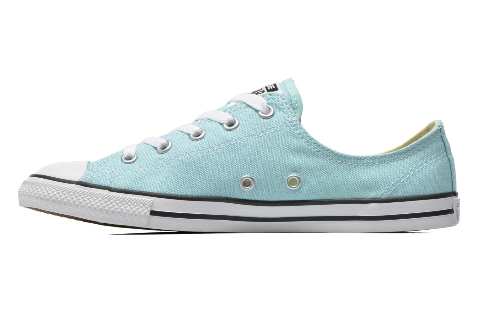 Deportivas Converse All Star Dainty Canvas Ox W Verde vista de frente