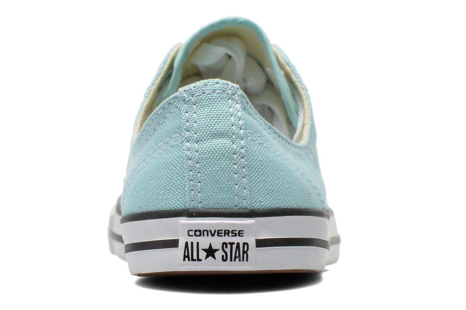 All Star Dainty Canvas Ox W Motel Pool-Black-White
