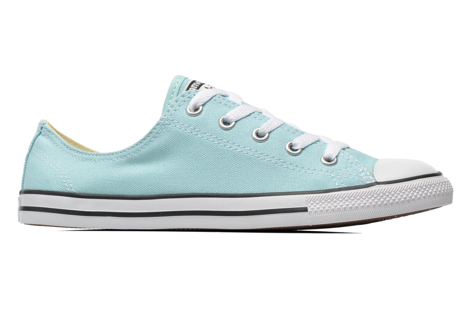 Deportivas Converse All Star Dainty Canvas Ox W Verde vistra trasera