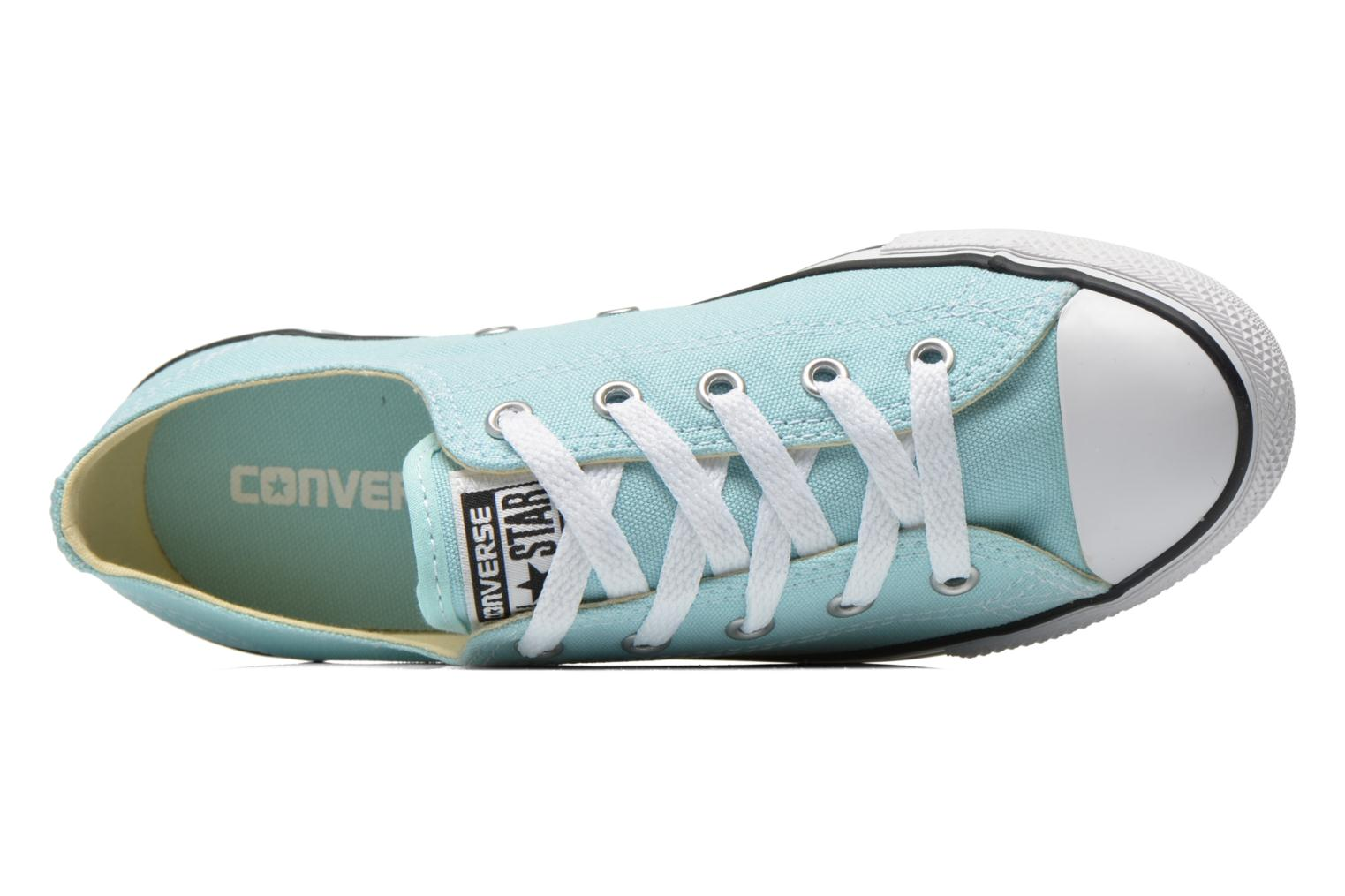 Baskets Converse All Star Dainty Canvas Ox W Vert vue gauche