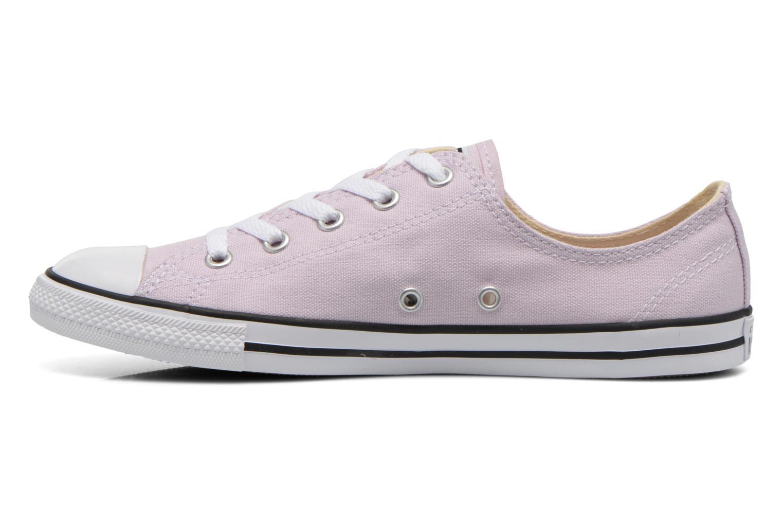 All Star Dainty Canvas Ox W Purple Dusk-Black-White