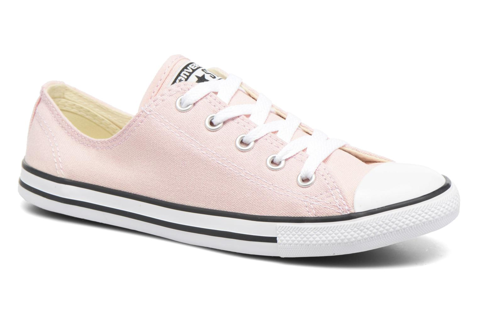All Star Dainty Canvas Ox W Vapor Pink/Black/White