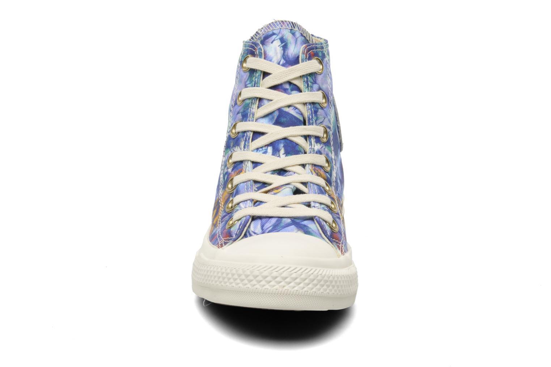 Sneaker Converse Chuck Taylor All Star Floral Print Hi W mehrfarbig schuhe getragen