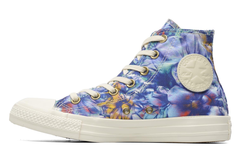 Sneaker Converse Chuck Taylor All Star Floral Print Hi W mehrfarbig ansicht von vorne