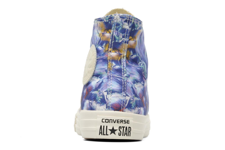 Sneaker Converse Chuck Taylor All Star Floral Print Hi W mehrfarbig ansicht von rechts