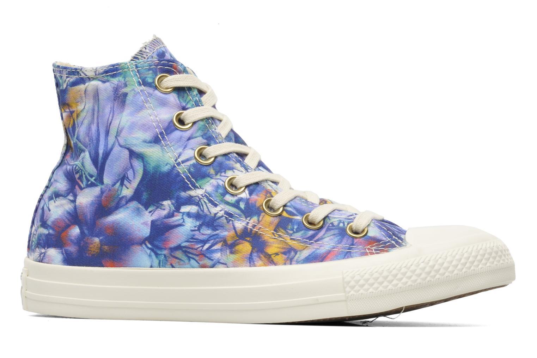 Sneaker Converse Chuck Taylor All Star Floral Print Hi W mehrfarbig ansicht von hinten