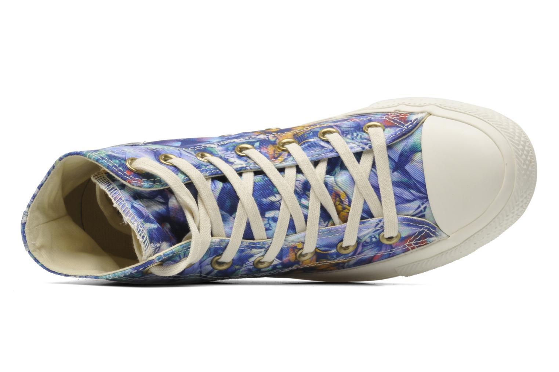 Sneaker Converse Chuck Taylor All Star Floral Print Hi W mehrfarbig ansicht von links