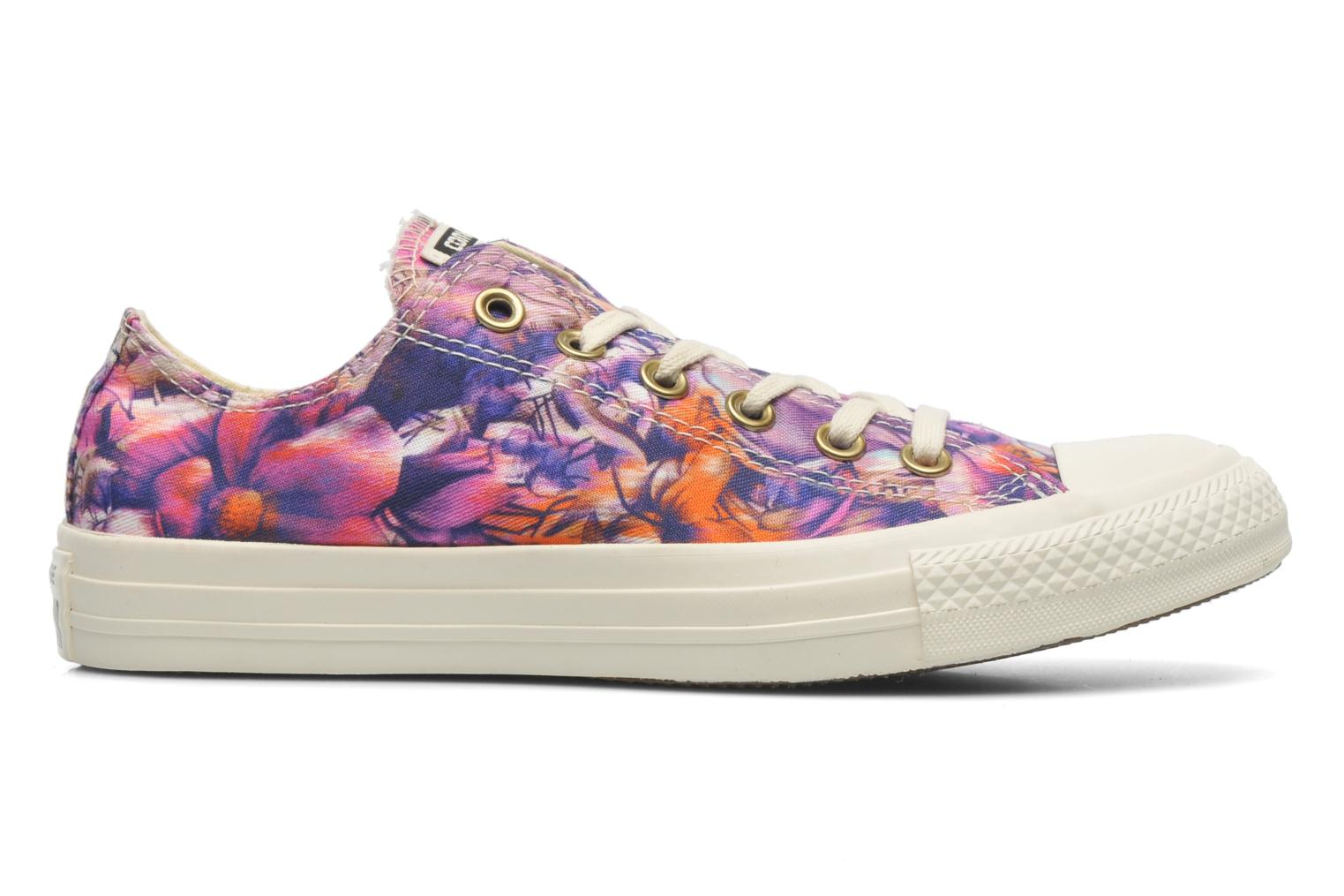 Sneakers Converse Chuck Taylor All Star Floral Print Ox W Multicolor achterkant