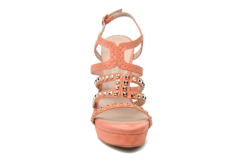 Sandales et nu-pieds Pura Lopez Marika Rose vue portées chaussures