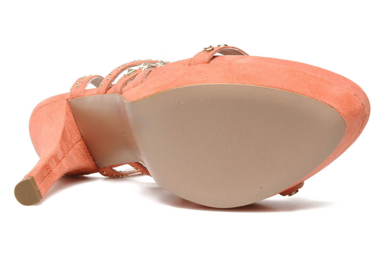 Sandales et nu-pieds Pura Lopez Marika Rose vue haut