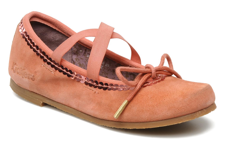 Ballerinas Kickers LILASTIK rosa detaillierte ansicht/modell