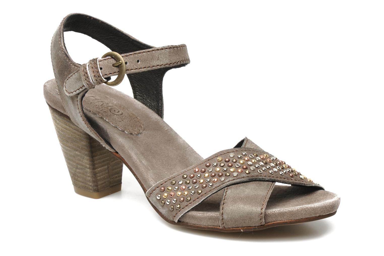 Sandales et nu-pieds Khrio Melton Marron vue détail/paire