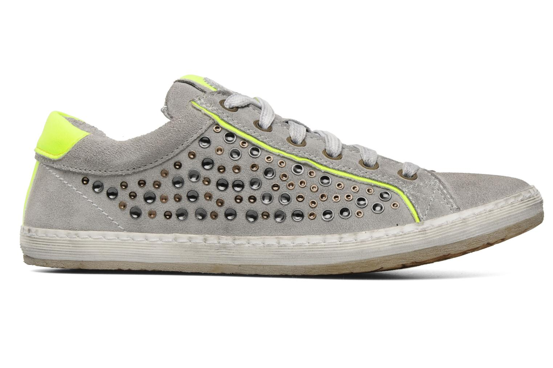Sneaker Khrio Upsala grau ansicht von hinten