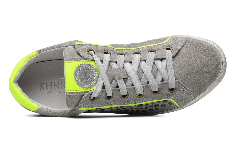 Sneaker Khrio Upsala grau ansicht von links