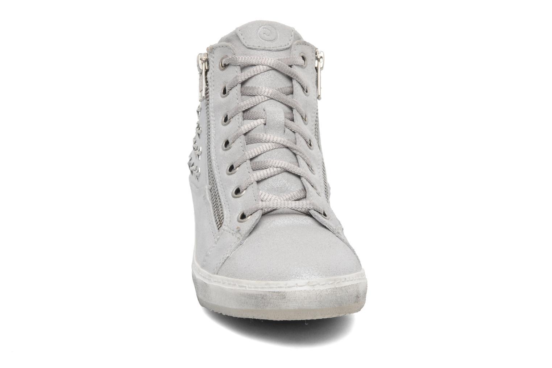 Sneaker Khrio Gardenia silber schuhe getragen