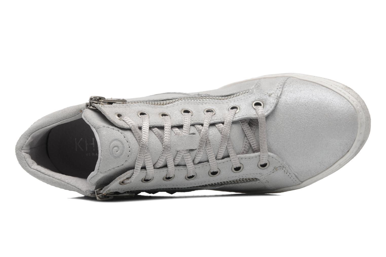 Sneaker Khrio Gardenia silber ansicht von links