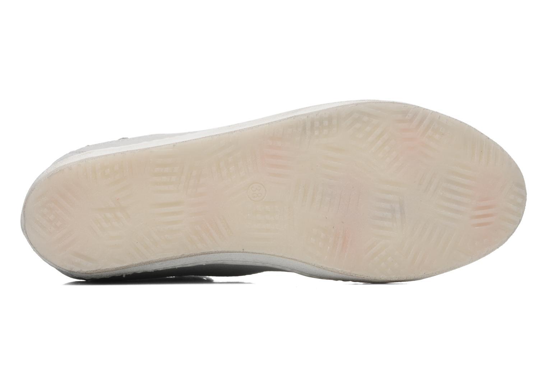 Sneaker Khrio Gardenia silber ansicht von oben