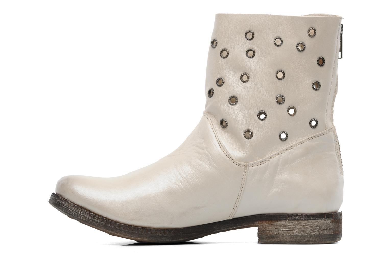 Boots en enkellaarsjes Khrio Gaba Beige voorkant