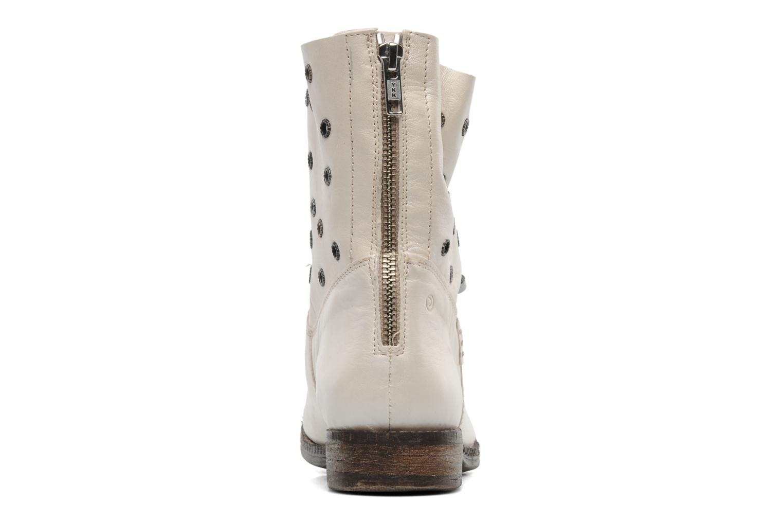 Bottines et boots Khrio Gaba Beige vue droite
