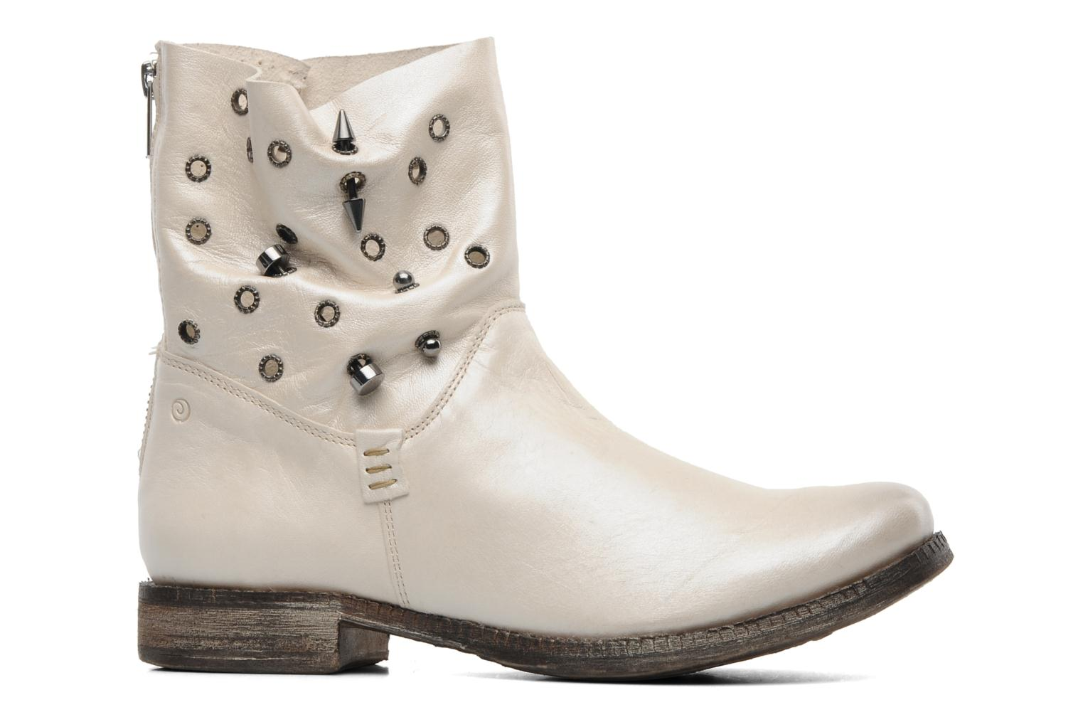 Ankle boots Khrio Gaba Beige back view