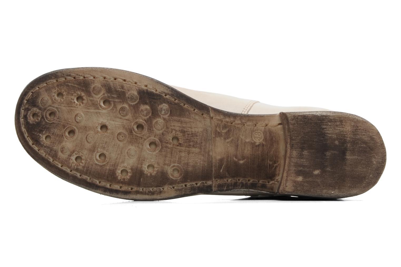 Bottines et boots Khrio Gaba Beige vue haut