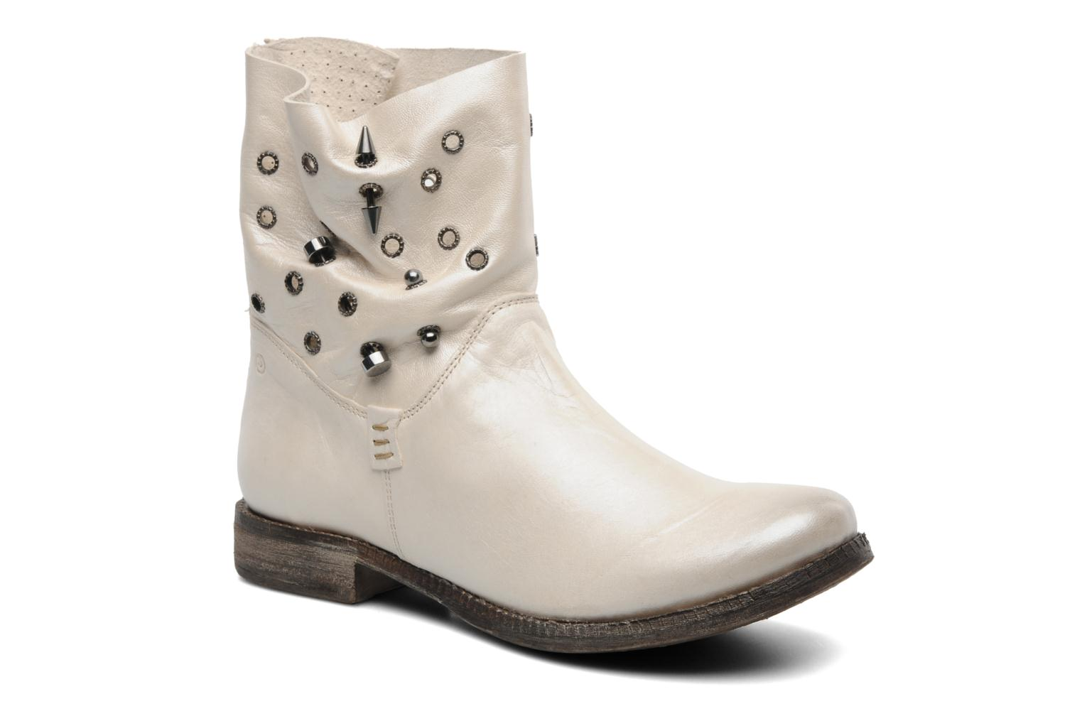 Ankle boots Khrio Gaba Beige detailed view/ Pair view