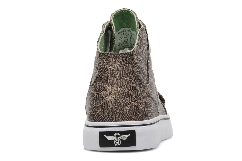 Sneakers Creative Recreation W Cesario XVI Bruin rechts