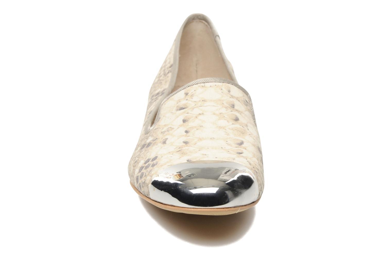 Mocassins Sam Edelman Aster Beige vue portées chaussures